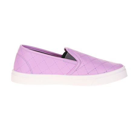Oomphies Madison Girls' Toddler Quilted Casual Slip-On Shoe