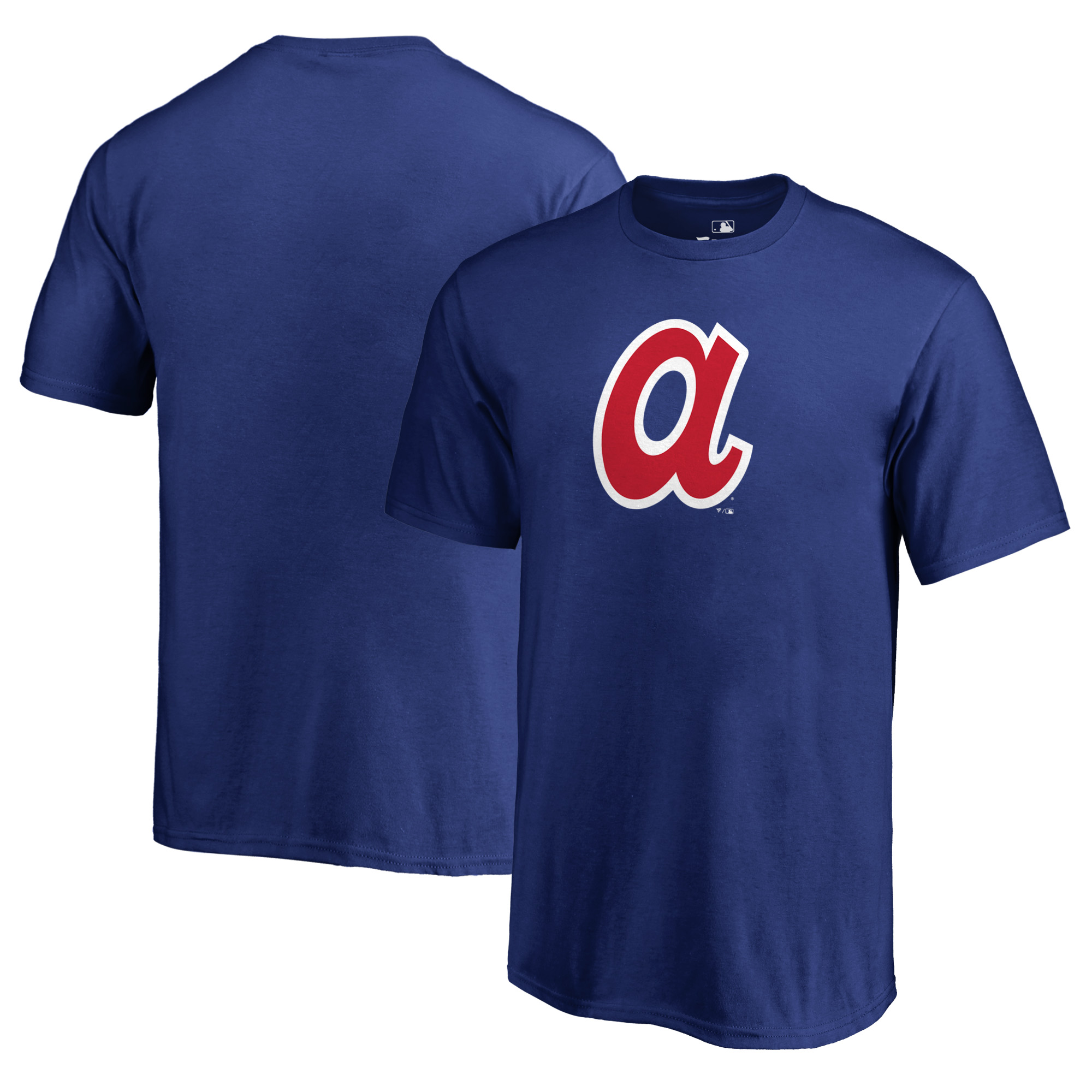 Atlanta Braves Fanatics Branded Youth Cooperstown Collection Huntington T-Shirt - Royal