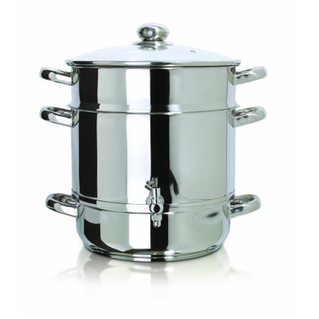 Euro Cuisine EC9500 Stainless Stove Top Steam Juicer