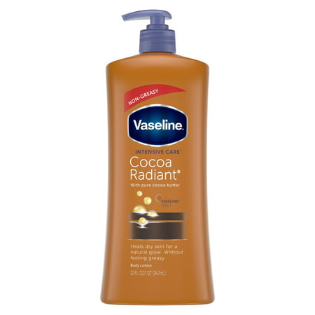 Vaseline Intensive Care Cocoa Radiant Body Lotion, 32 oz