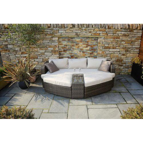 Ivy Bronx Cochran 4 Piece Deep Seating Group with Cushions