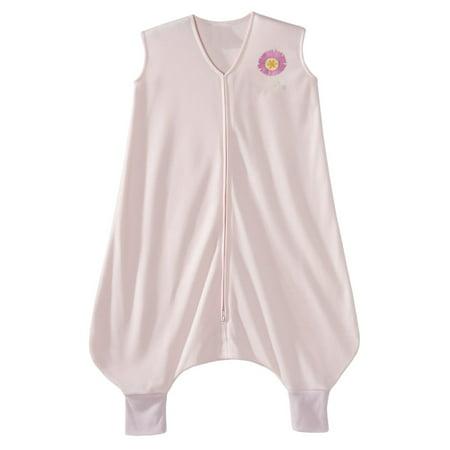 - HALO Early Walker SleepSack Wearable Blanket, 100% Poly Knit, Pink Flower, Extra Large