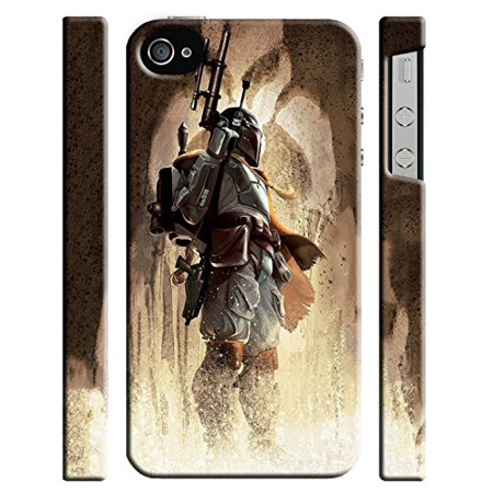 Ganma Star Wars Boba Fett Case For Iphone 4 4s Hard Case Cover