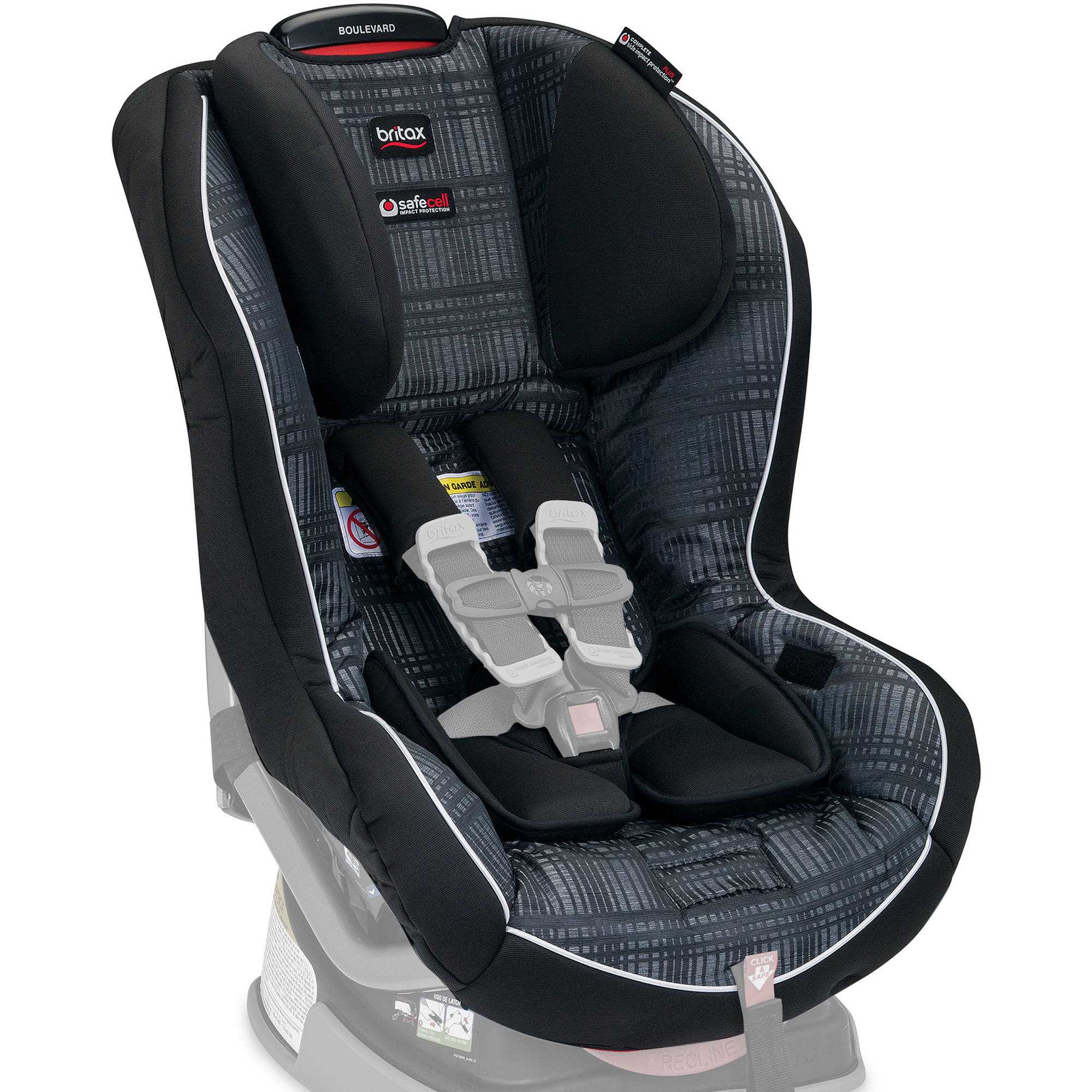 Britax Car Seat Cover Set, Boulevard Convertible, Domino