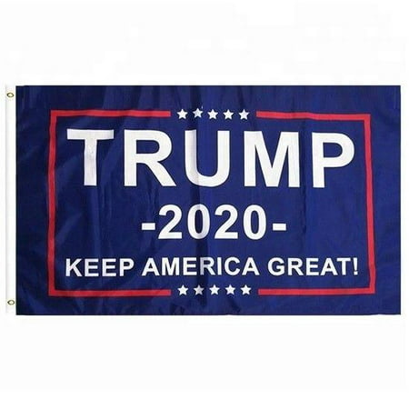 3x5 Feet Donald Trump 2020 President Flag - Vivid Color and UV Fade Resistant - Canvas Header and Brass Grommets - Keep America Great Again Banner Flags 3x5 Ft Foot](Banner Flag)