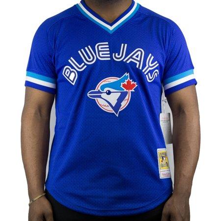 Joe Johnson Jersey - Joe Carter Toronto Blue Jays Mitchell & Ness Authentic 1993 BP Jersey