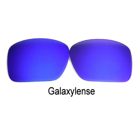 Galaxy Replacement Lenses For-Oakley Oil Drum BLUE Polarized 100%UVAB