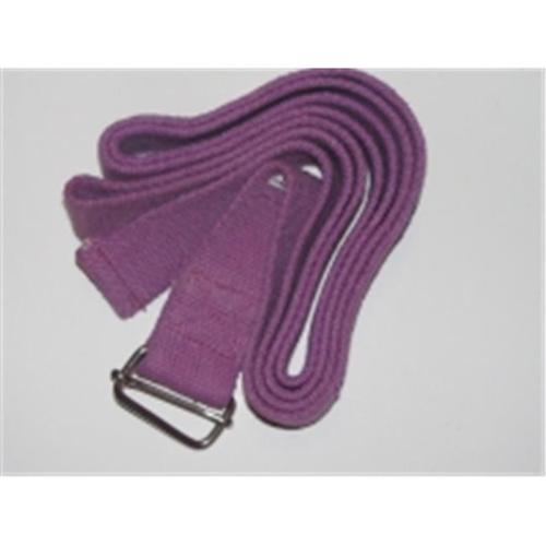 OmSutra OM132010-Purple Yoga Strap Cinch-Buckle 10 inch