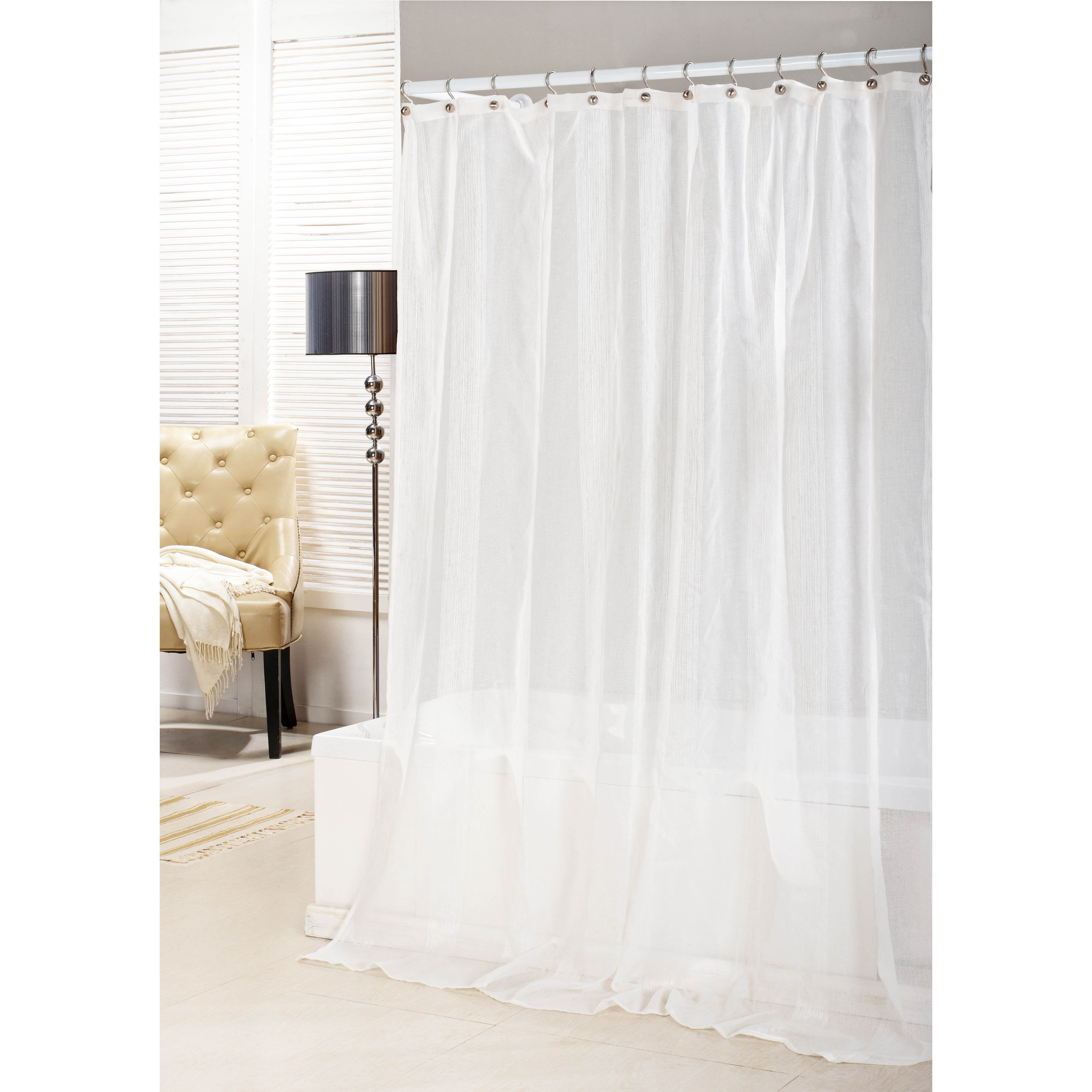 bathroom and more collection sheer pure white shower