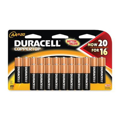 Duracell CopperTop General Purpose Battery DURMN1500B20