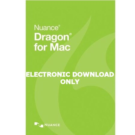 Nuance SN-S681A-R00-5.0 Dragon for MAC Version 5 Upgrade from Dictate 4.0 - Electronic Download Upgrade Only (Dragon Dictate 3 For Mac)