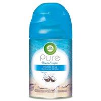 Air Wick Pure Freshmatic Refill Automatic Spray, Florida Keys Coconut Water, 6.17oz, Air Freshener