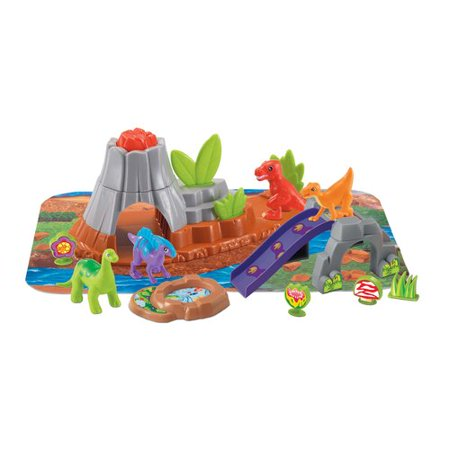 Kid Connection 21 Piece Dinosaurs Volcano Play Set