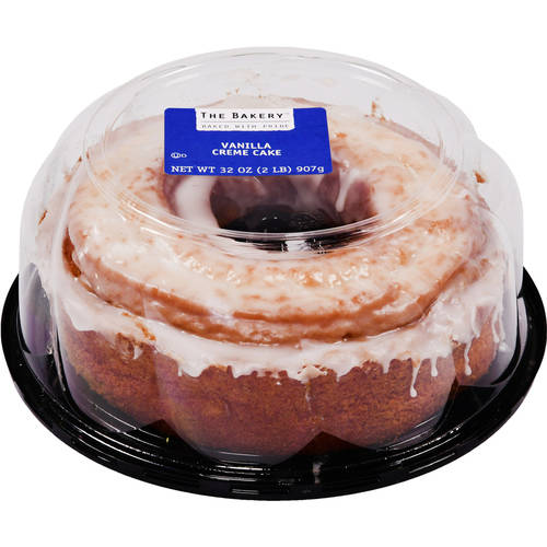 The Bakery at Walmart Vanilla Creme Cake, 32 oz