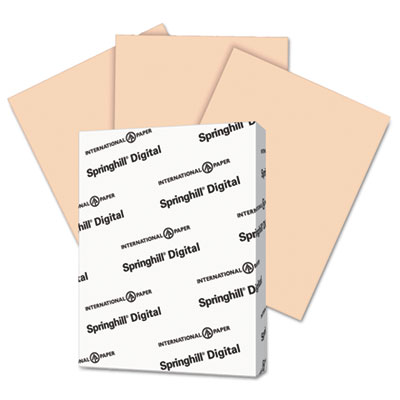 Digital Vellum Bristol Color Cover, 67 lb, 8 1/2 x 11, Peach, 250 Sheets/Pack, Sold as 1 Package, 250 Sheet per Package