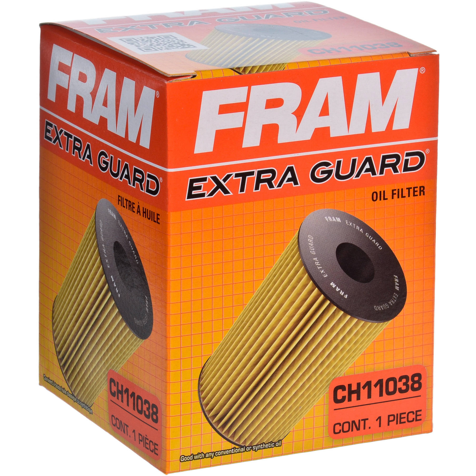 FRAM Extra Guard Oil Filter, CH11038