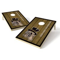 2X3 Shield Game College Big Vintage Wake Forest Deamon Deacons