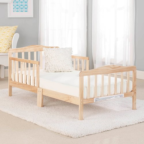 02e124ddebf Big Oshi Contemporary Design Toddler   Kids Bed - Sturdy Wooden Frame for Extra  Safety - Modern Slat Design - Great for Boys and Girls - Full Bed Frame With  ...