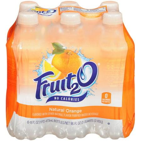 Fruit 2O Juice, Orange, 16 Fl Oz, 4