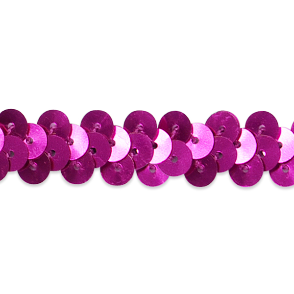 """Expo Int'l 1 Row 3/8"""" Metallic Stretch Sequin Trim by the yard"""