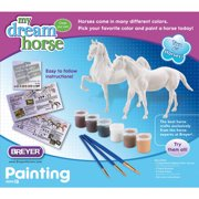 Breyer Paddock Pals Paint Your Own Horse Activity Kit, Quarter Horse and Saddlebred by Generic