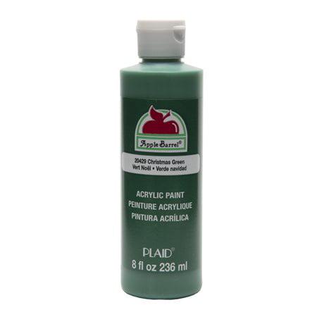 - Apple barrel acrylic paint christmas green 8oz (Pack of 2)
