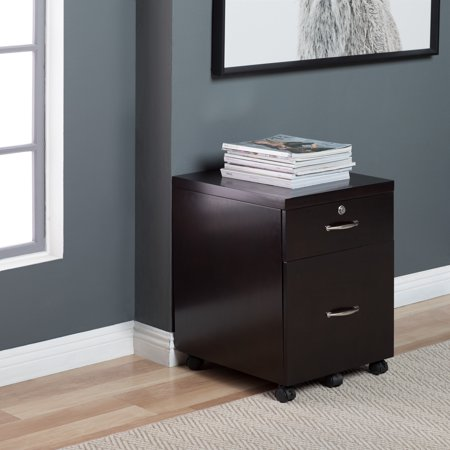 competitive price d1f9c 4d332 Studio Designs Home Newell Locking 2 Drawer Wood Mobile File Cabinet with  Casters