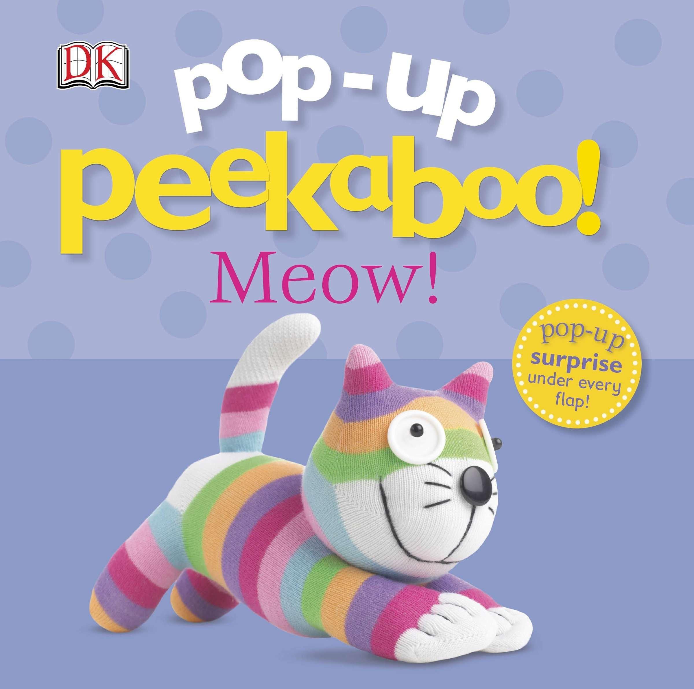 Pop-up Peekaboo Meow (Board Book)