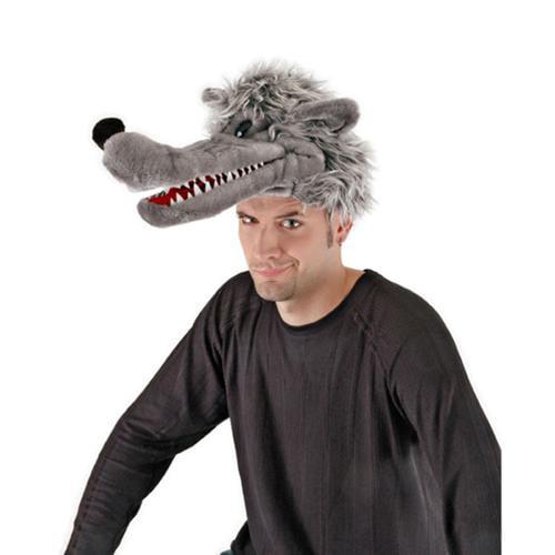 Red Riding Hood Big Bad Wolf Costume Headpiece Walmart Com