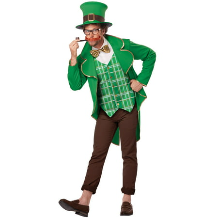 Charming Lucky Leprechaun Adult (50's Day Costume)