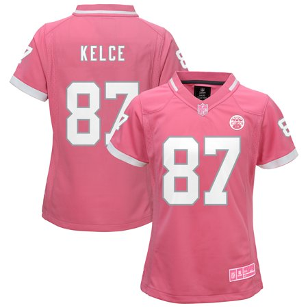 Travis Kelce Kansas City Chiefs Youth Girls Bubble Gum Jersey - Pink - Party City In Jersey City