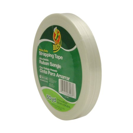Duck Brand High Performance Strapping Tape: 0.71 in. x 60 yds. (White)