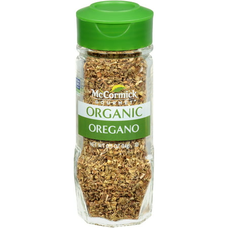 Gourmet Loose Leaf - McCormick Gourmet Organic Oregano Leaves, 0.5 oz