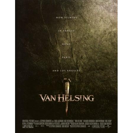Hellsing Poster - Van Helsing Movie Poster (11 x 17)