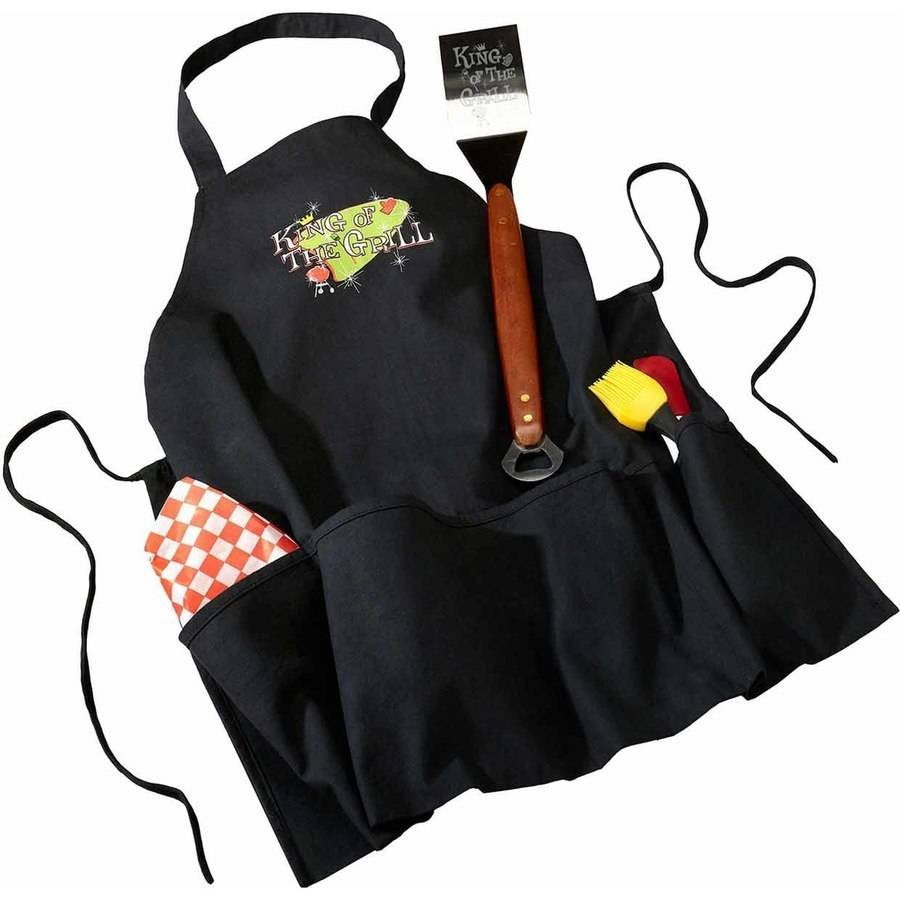 King of The Grill Cotton Apron