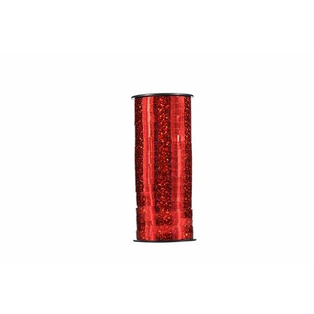 Curling Ribbon, Balloon Ribbon, Gift Wrapping Ribbon for Party, Festival Decoration and Crafts, Width 0.2 inches, Long 100 Yard (Red)