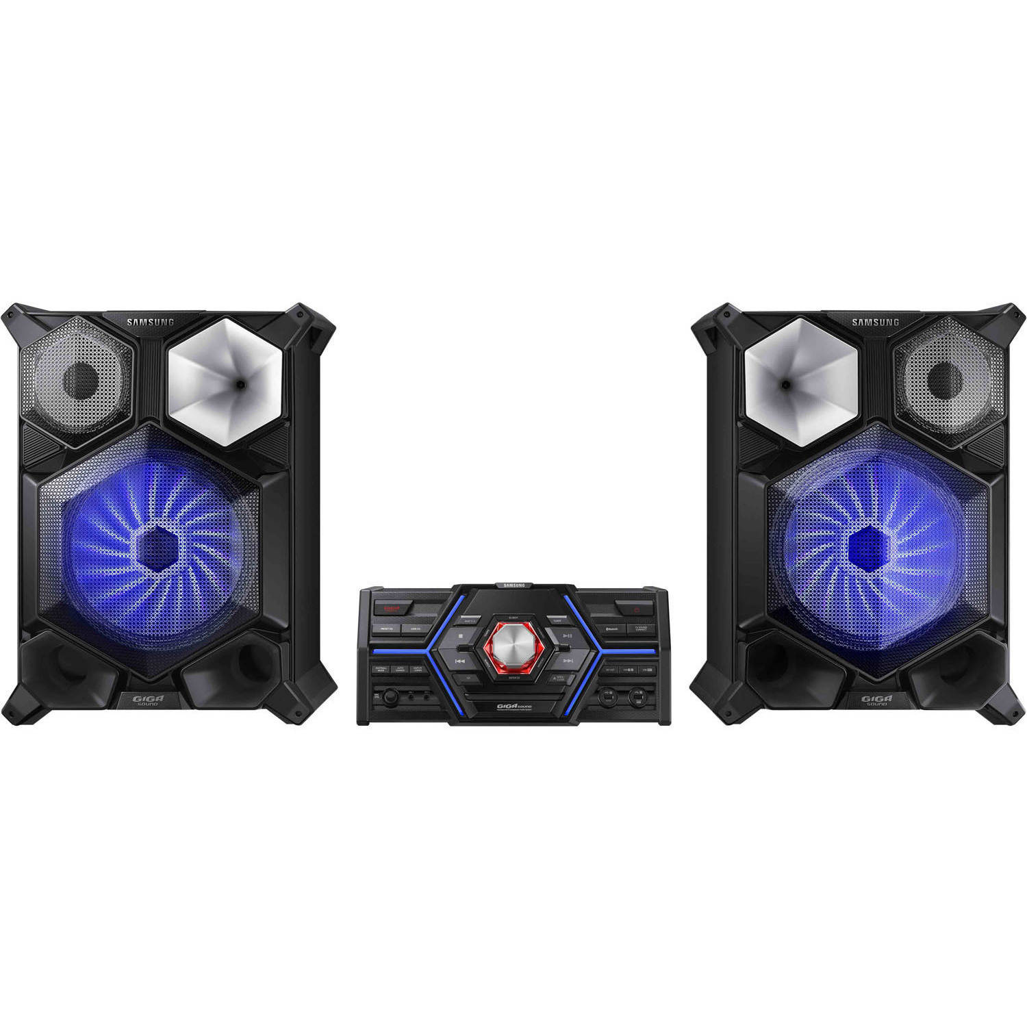 Samsung MX-JS8000 2400W Giga Sound System with 3D Beat Lighting Effects