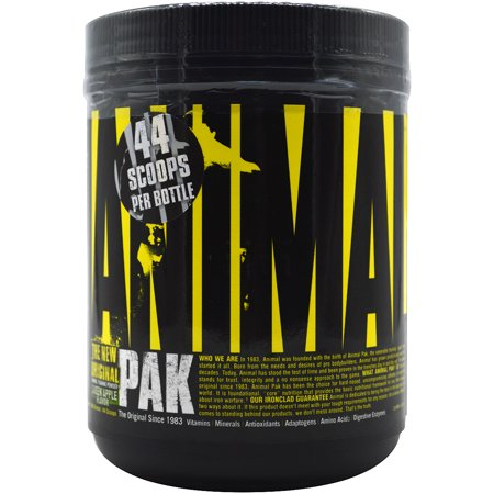 Universal Nutrition Animal Pak Powder Supplement - Green Apple - 22 Servings