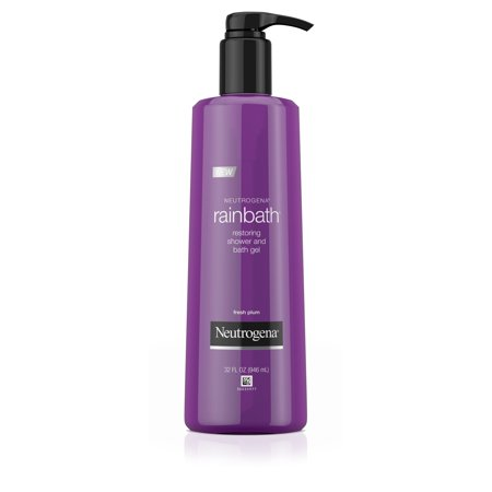 - Neutrogena Rainbath Shower and Bath Gel, Fresh Plum and Floral Scent, 32 fl. oz