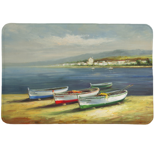 Laural Home Boats on the Beach Mat