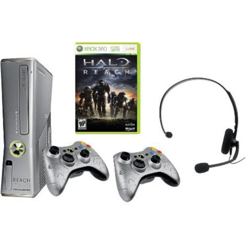 Xbox 360 Limited Edition Halo Reach Console Bundle