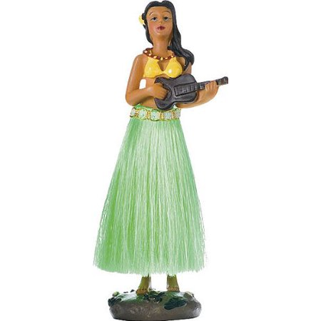 2 Pack 36707 Hula Dancing Girl, Finely detailed Hula Doll with dancing spring action By Bell