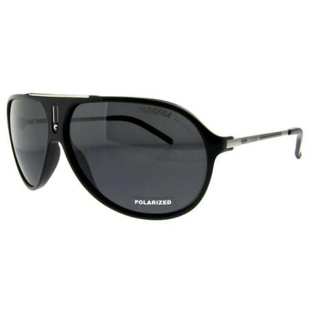 Hot/S CSA RA Black Palladium Grey Polarized Aviator (Carrera Sunglasses Purple)