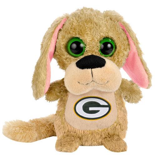 "NFL - Green Bay Packers 8"" Big Eye Plush Dog"