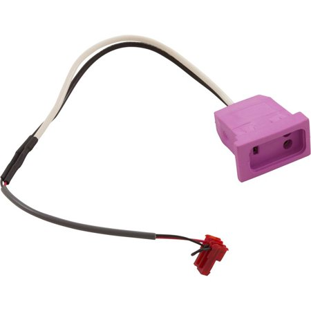 Receptacle, H-Q, Switched Acc, Molded, 18/3 SS VH, Lt.Violet
