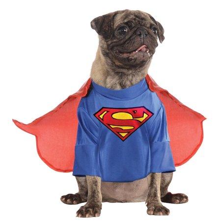 Superman Pet Halloween Superhero Costume - Superheroes And Villains Costumes