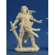 Arael Half Elf Cleric Miniature 25mm Heroic Scale Pathfinder Bones Reaper Miniatures