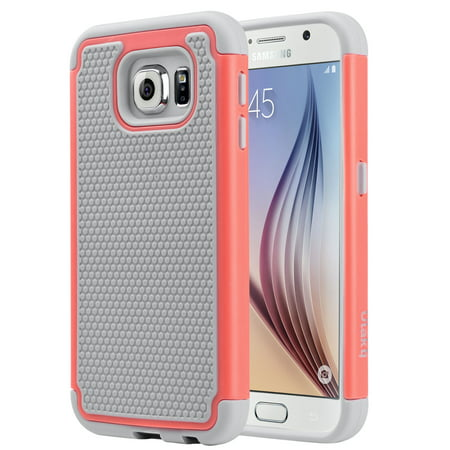 ULAK Galaxy S6 Case, 2in1 Style Bumper Protection Case with Hard Plastic Shell & Soft Silicone Cover for Samsung Galaxy