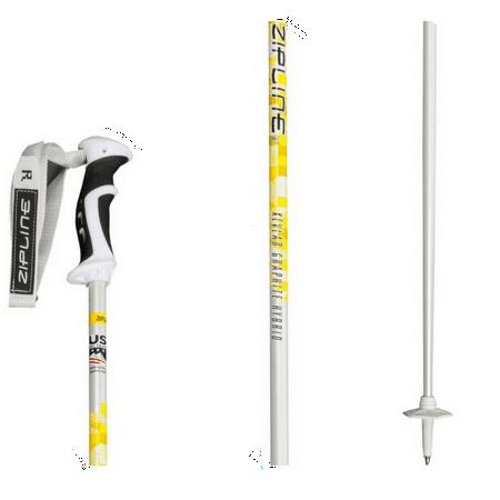 "Podium 16.0 Kevlar Graphite Hybrid Composite Ski Pole - 52"" / 132 cm"