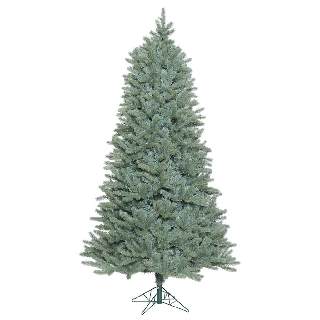 "Vickerman 408216 - 12' x 80"" Slim Colorado Blue Spruce Tree Christmas Tree (A164590)"